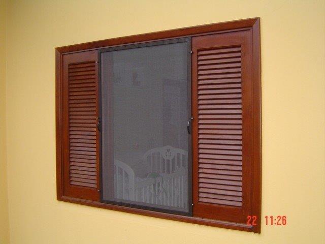 Tela de janela contra inseto